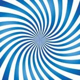 Abstrakter Vektorspiralenhintergrund lizenzfreie abbildung