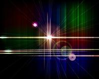 Abstrakter vektortechnologiehintergrund. Stockfoto