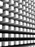 Abstrakter vertikaler digitaler Hintergrund mit weißer Spaltenreihe Lizenzfreie Stockfotos