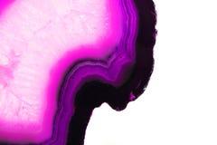 Abstrakter violetter Achathintergrund Lizenzfreies Stockfoto