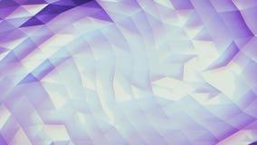Abstrakter violetter niedrig-Polyhintergrund lizenzfreie abbildung