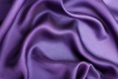 Abstrakter violetter silk Hintergrund Stockfoto