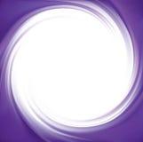 Abstrakter violetter Strudelhintergrund des Vektors Stockfotografie