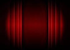 Abstrakter Vorhang Stockfoto