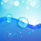 Abstrakter Wasserhintergrund. Lizenzfreies Stockfoto