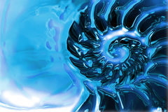 Abstrakter Wasserhintergrund lizenzfreie abbildung
