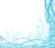 Abstrakter Wasserspritzenhintergrund Stockfotografie