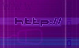 Abstrakter Web-Hintergrund lizenzfreie abbildung