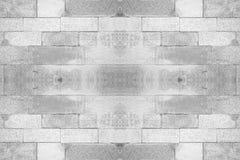 Abstrakter weißer Backsteinmauerhintergrund stockfotografie