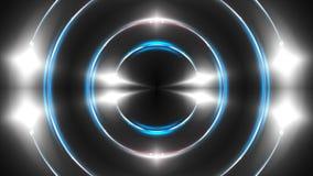 Abstrakter weißer Fractal beleuchtet, Hintergrund der Wiedergabe 3d, der Computer, der Hintergrund erzeugt Lizenzfreie Stockbilder