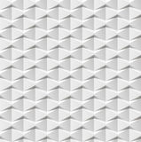 Abstrakter weißer geometrischer Hintergrund 3d Weiße nahtlose Beschaffenheit mit Schatten Einfache saubere weiße Hintergrundbesch Stockfotografie