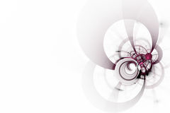 Abstrakter weißer Hintergrund Stockfotos