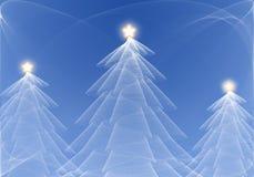 Abstrakter Weihnachtsbaum Lizenzfreies Stockfoto