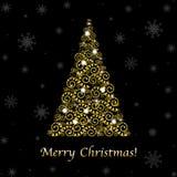 Abstrakter Weihnachtsbaum Lizenzfreie Stockfotografie