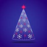 Abstrakter Weihnachtsbaum Lizenzfreie Stockbilder