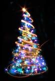 Abstrakter Weihnachtsbaum Stockbilder
