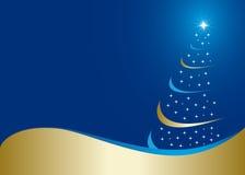 Abstrakter Weihnachtshintergrund Lizenzfreies Stockfoto