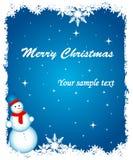 Abstrakter Weihnachtshintergrund Lizenzfreies Stockbild