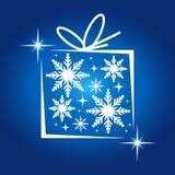 Abstrakter Weihnachtshintergrund Stockbild