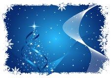 Abstrakter Weihnachtshintergrund Lizenzfreie Stockfotos