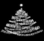 Abstrakter Weihnachtshintergrund Stockfotografie