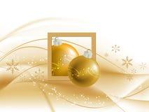 Abstrakter Weihnachtshintergrund stock abbildung