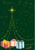 Abstrakter Weihnachtshintergrund Lizenzfreie Stockbilder