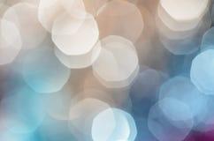 Abstrakter Weihnachtshintergrund mit bokeh beleuchtet für Designer Stockbilder