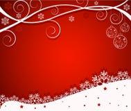 Abstrakter Weihnachtshintergrund - Vektor Lizenzfreie Stockfotografie
