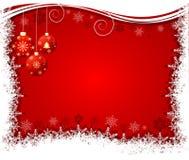 Abstrakter Weihnachtshintergrundvektor Stockfotografie
