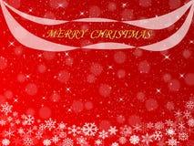 Abstrakter Weihnachtsrothintergrund Lizenzfreie Abbildung