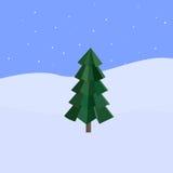 Abstrakter Weihnachtsvektorhintergrund Lizenzfreies Stockfoto