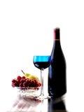 Abstrakter Wein-Glasware-Hintergrund Stockbild