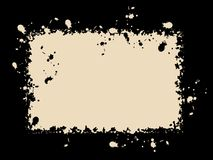 Abstrakter Weinlesehintergrund Stock Abbildung