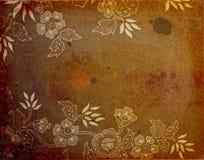 Abstrakter Weinlesepapierhintergrund Stockfoto