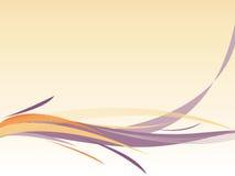 Abstrakter wellenförmiger Hintergrund in den weichen Farben Lizenzfreie Stockfotos