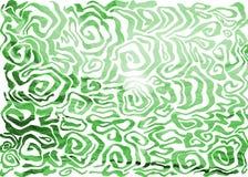 Abstrakter Wellenhintergrund stock abbildung