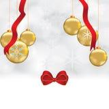 Abstrakter Winter Weihnachtshintergrund stock abbildung