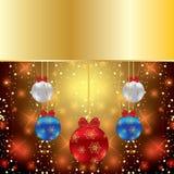 Abstrakter Winter Weihnachtshintergrund lizenzfreie abbildung