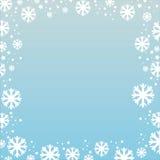 Abstrakter Winterhintergrund vektor abbildung