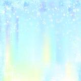 Abstrakter Winterhintergrund Stockbild