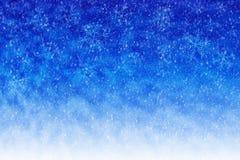 Abstrakter Winterhintergrund Lizenzfreies Stockbild