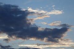 Abstrakter Wolkenhintergrund Lizenzfreie Stockfotos