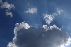Abstrakter Wolkenhintergrund Lizenzfreies Stockfoto