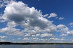 Abstrakter Wolkenhintergrund Stockfoto