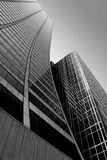 Abstrakter Wolkenkratzer Stockbilder