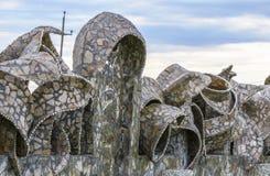 Abstrakter Zaun Stockbilder