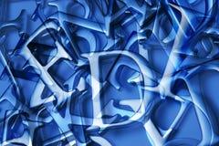 Abstrakter Zeichen-Hintergrund lizenzfreie abbildung