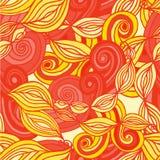 Abstrakter Zeichnungshintergrund von geometrischen Mustern Lizenzfreies Stockbild