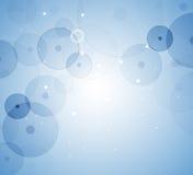 Abstrakter Zellenhintergrund Medizin- und Wissenschaftsforschung Lizenzfreie Stockbilder